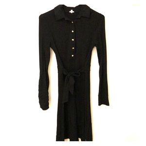 Black jcrew dress